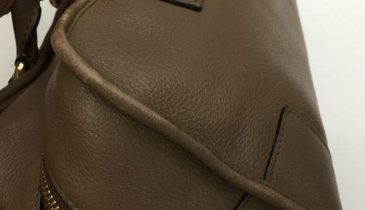 ロエベ(Loewe)レザーバッグの色剥げ直しカラーリング