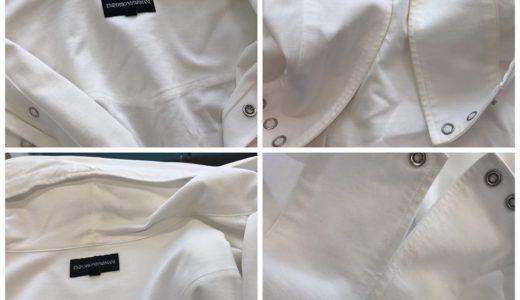 EMPORIO ARMANI|エンポリオ アルマーニパーカーシャツの染み抜き&クリーニング